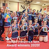 The Watkins Glen cheerleading squad won the Co-Ed Division at the IAC competition last weekend.