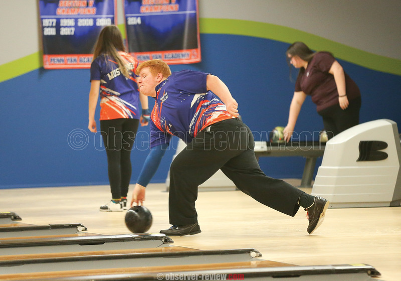 Jon Mashewske releases the ball in the contest against Dundee last week.