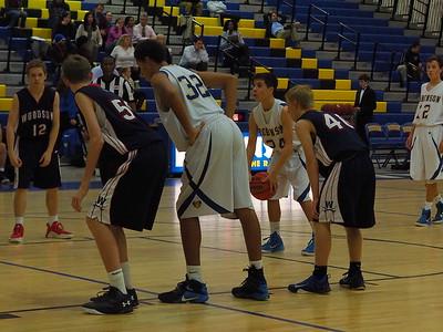 12/1 - Boys Fr. & JV Basketball