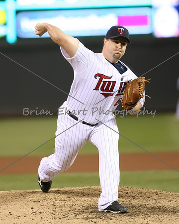 Minnesota Twins pitcher Matt Capps (55) pitching during the ninth inning during the game on May 8, 2012: at the Minnesota Twins game versus the Los Angeles Angels of Anaheim at Target Field in Minneapolis, MN.