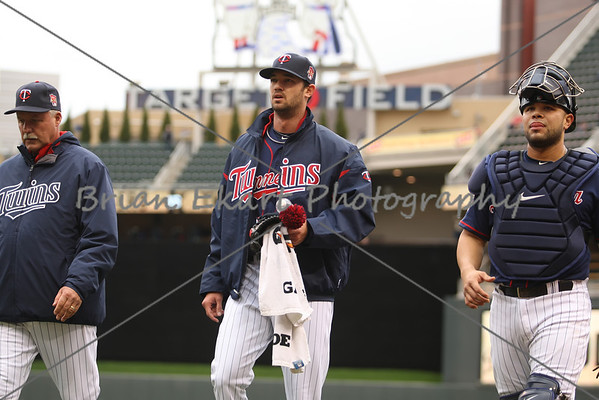 MLB: MAY 1 Dodgers at Twins - Game 2