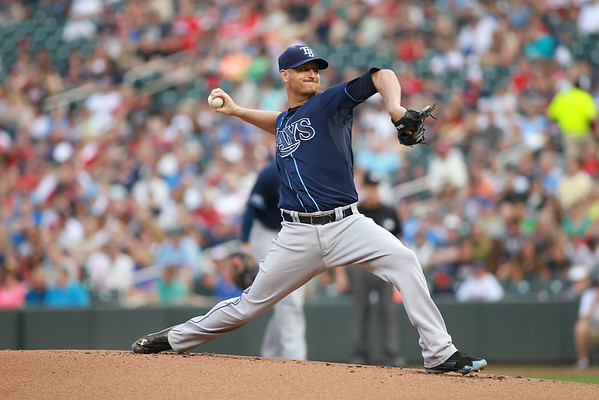 MLB: JUL 18 Rays at Twins
