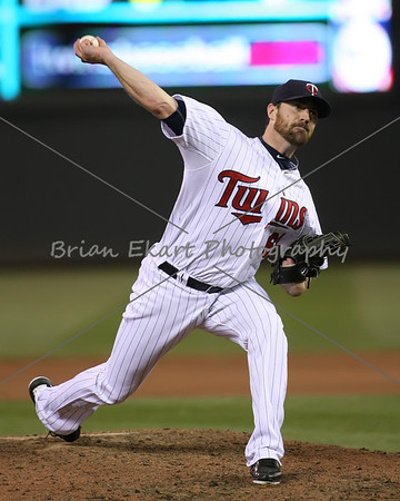 Minnesota Twins pitcher Jeff Gray (60) pitching during the game on May 12, 2012:  at the Minnesota Twins game versus the Toronto Blue Jays at Target Field in Minneapolis, MN.