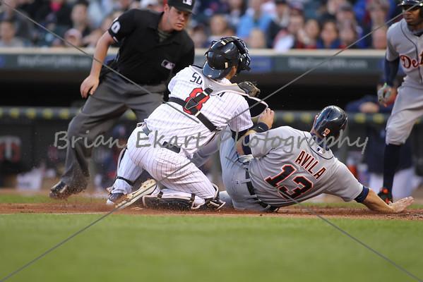 MLB: APR 25 Tigers at Twins