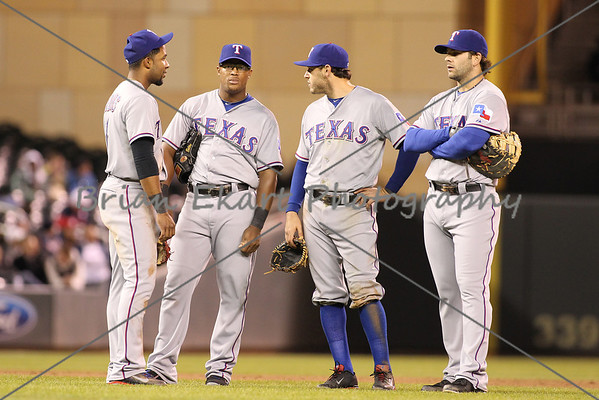 MLB: APR 25 Rangers at Twins