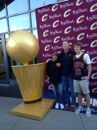 NBA Finals return to Cleveland