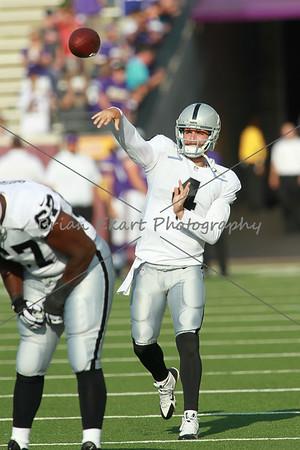 NFL: AUG 08 Preseason - Raiders at Vikings