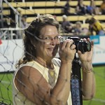 Wonderful lady. Our friend, and fellow Battery fanatic, Kim Gregory.