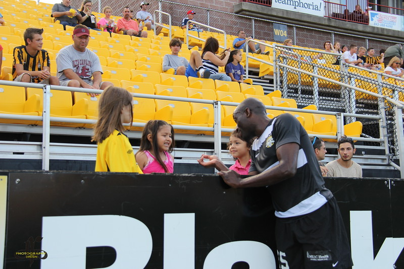 Young fans with John Wilson