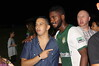 Odisnel Cooper and a fan
