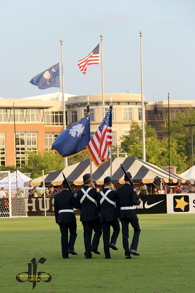 Presenting the Colors - Honor Our Heroes Night