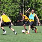 Taylor Mueller, Michael Kafari, and Colin Falvey