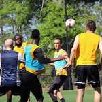 Eric Shannon, Michael Kafari, Amadou Sanyang, Jarad van Schaik, and Colin Falvey