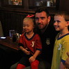 Colin and his young fans