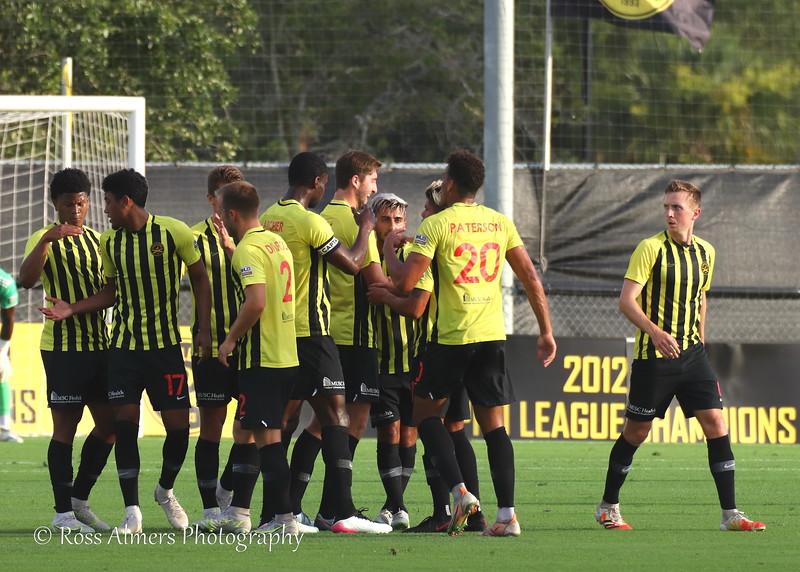 Stavros Zarokostas goal celebration
