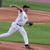 #40 Pitcher Scott Elarton on the mound.