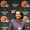 Condoleezza Rice visits Browns :