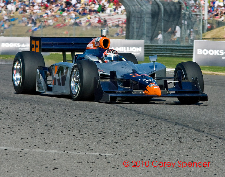 Izod Indycar Driver Mario Moraes at Barber Motorsports Park
