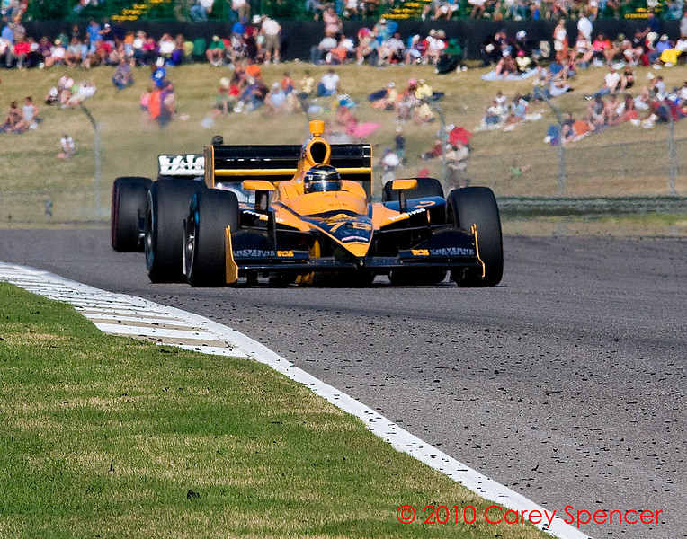 Izod Indycar Driver Simona De Silvestro