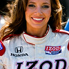 Lovely smile from Indycar Podium Girl during Indy Grand Prix of Alabama