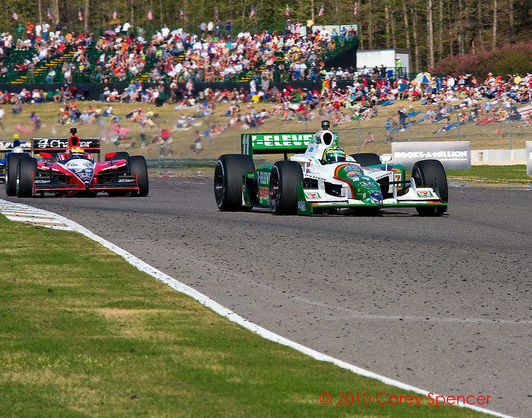 Tony Kannaan and Justin Wilson Indy Grand Prix of Alabama at Barber Motorsports Park