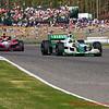 Tony Kannaan and Justin Wilson Indy Grand Prix of Alabama at Barber Motorsports Park