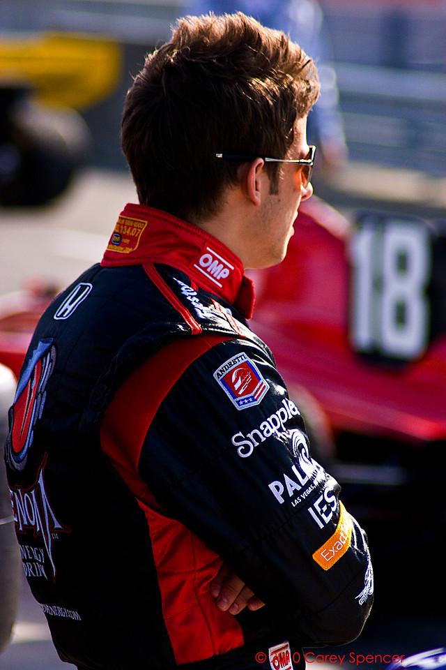 Marco Andretti Izod Indycar Series Barber Motorsport Park Alabama