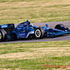 Indy Driver Dario Franchitti During the Grand Prix of Alabama