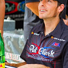 Pro Motorcycle Racer Ben Bostrom racing for Pat Clark Motorsports.