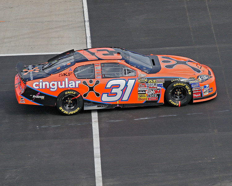 Jeff Burton's Cingular #31 car at Talladega