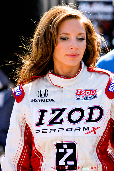 Izod Indycar Series Podium Girl at Barber Motorsports Park