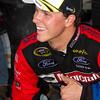 Trevor Bayne Thumbs Up after Daytona 500 Win.