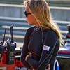 Carmen Jorda Firestone Indy Lights Driver Taking a Break Trackside Barber Motorsports Park Alabama