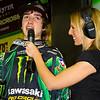 A happy Dean Wilson after AMA Supercross SX Lite's Victory in Atlanta