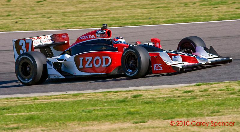 Ryan Hunter-Reay Izod Indycar Series Barber Motorsport Park Alabama