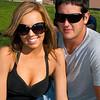 Young couple enjoying the 2011 Daytona 500