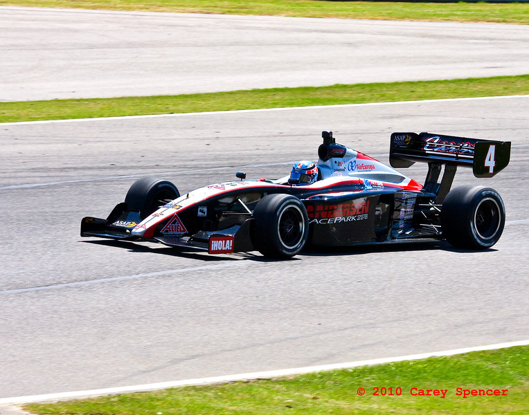 #4 Carmen Jorda races at Barber Motorsports in Alabama
