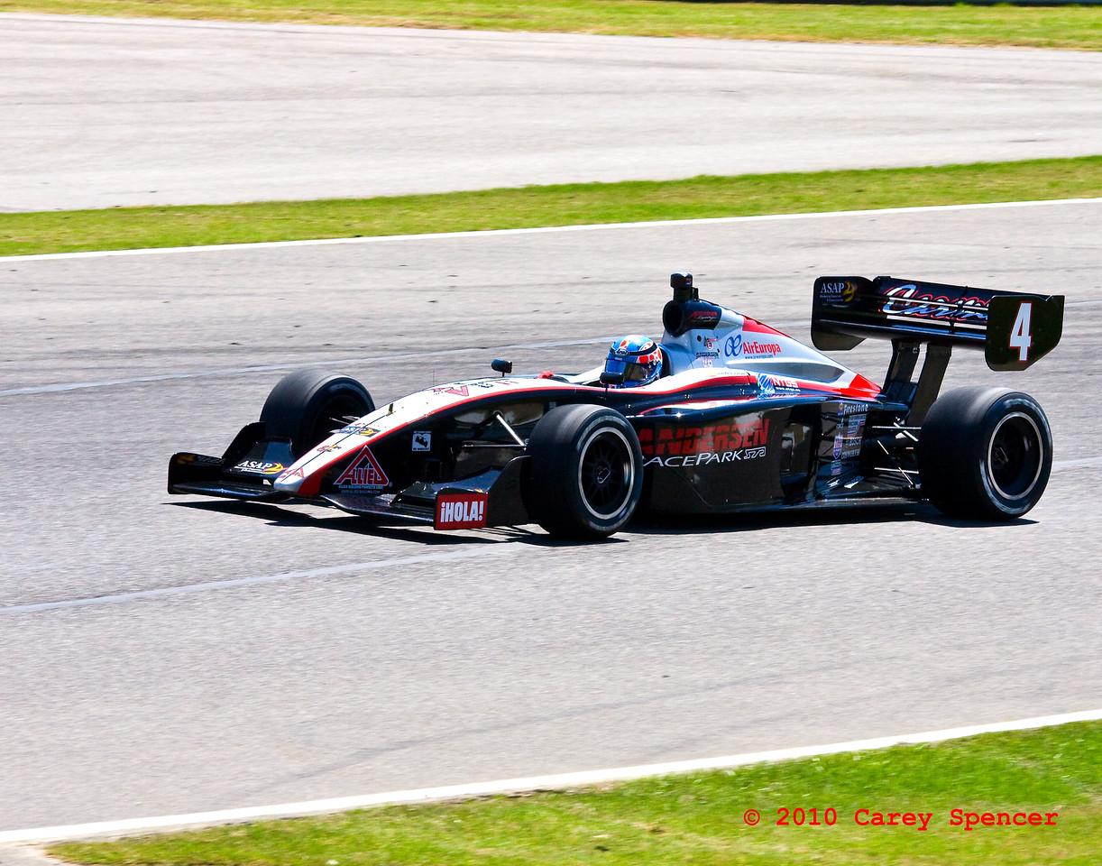 #4 Carmen Jorda races at Barber Motorsports in Alabama