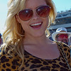 Alexandra Amor new to the pop music scene having fun at the 2011 Daytona 500