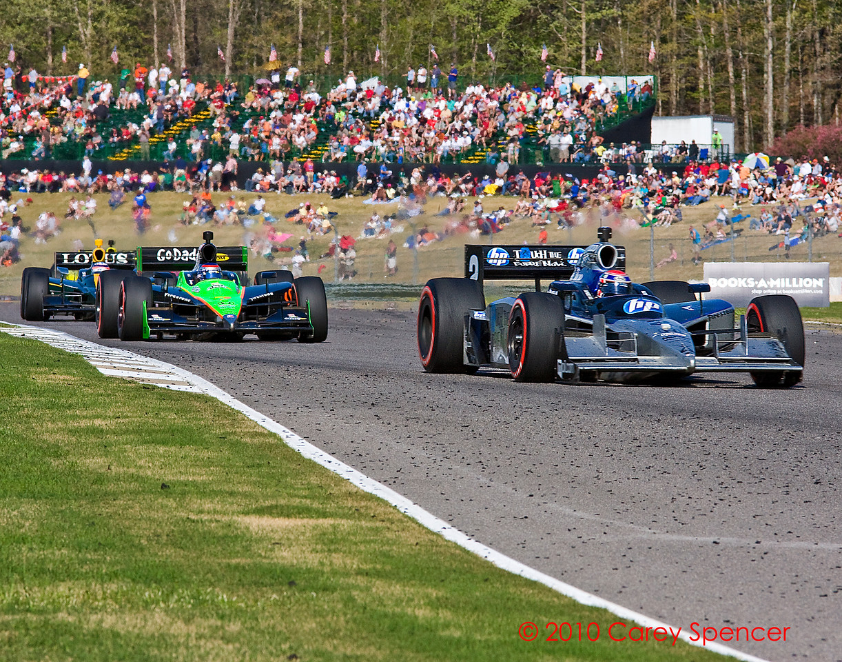 Raphael Matos, Danica Patrick, Takuma Sato Barber Motorsports Park Alabama Izod Indycar Series