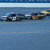 Ron Hornaday in his leads the pack in his EZ-GO #33 Camping World Truck.