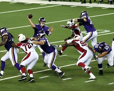 2014 MN Vikings Preseason vs Arizona (Aug 16, 2014)