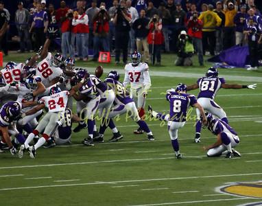 MN Vikings vs NY Giants (Dec 28, 2008)