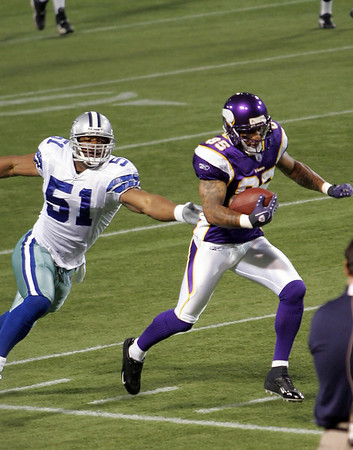 Minnesota Vikings vs Dallas Cowboys (Aug 30, 2007, preseason)