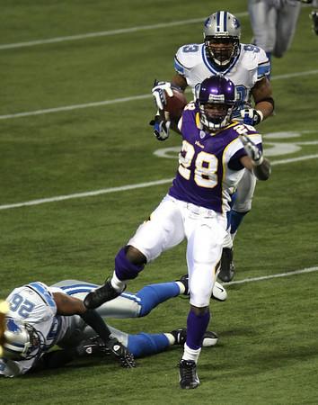 Minnesota Vikings vs Detroit Lions (Dec 2, 2007)