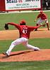 Cincinnati starter Johnny Cueto strikes out five in six innings of work.