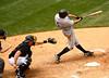 Adam Rosales at bat.