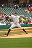 Bat's pitcher Matt Maloney.