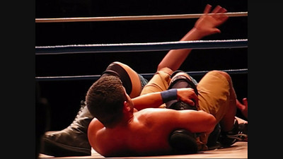 Matt Steele and Scott Sterling (The S&S Express) in tag team action against Trucker Jones and Big Country (Part Two)