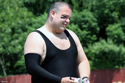 """Terrific"" Tommy Trainwreck of The M1nute Men prior to the start of the Renegade Wrestling Alliance (RWA) Summertime Showdown event held on July 14, 2012 at the Stateline Campground in East Killingly, Connecticut."